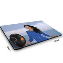 Mouse Pad Cozete Gomes Ocean Blue 29cm