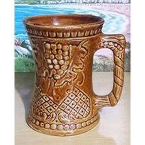 Caneca Decorada Ceramica Festa Da Uva
