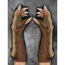 Hombre Lobo Lobo Super Action Guantes Halloween Costume Acc