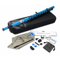 Flauta Nuvo Se200fbl Student Flute Kit With Straight Head
