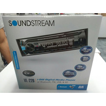 Estereo Soundstream Vl22 Con Bluetooth Nuevo