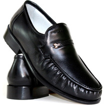 Sapato Mafisa Confortavel Couro Legitimo Anti Stress Luxo