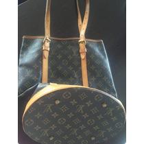 Bolsa Lv Louis Vuitton Legitima - Usada Modelo Bucker -