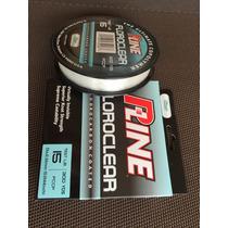 Linea Hilo Para Pescar, P-line Fluoroclear, Transp., 300 Yrd