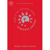Bíblia De Estudo Para Pequenos Grupos Vermelha