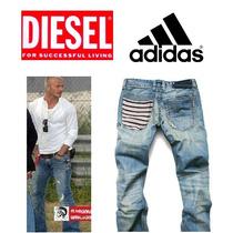 Calça Jeans Adidas Jogador Famoso - Importada