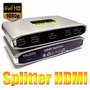 Splitter Hdmi De 4 Vias, 1080p Full Hd Alta Definición,