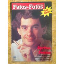 Revista Fatos E Fotos Gente Álbum Histórico Ayrton Senna