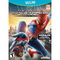 Spiderman Ultimate Edition Nintendo Wii U Nuevo Sellado