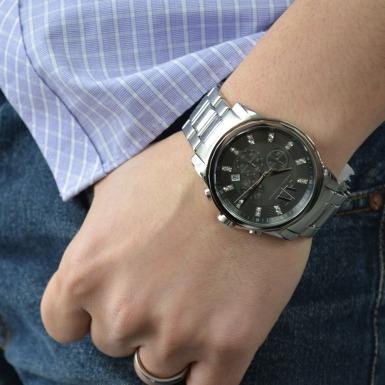 80897bfd2ba4 Reloj Armani Exchange Ax2092 Acero Pulsera Hombre Original -   4.900 ...