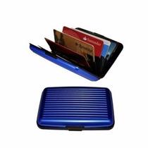 Billetera Aluminio Tipo Aluma Wallet Tarjetas Dinero Set X 2