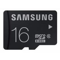 Cartão Memória Micro Sd 16gb Samsung Classe6 Galaxy S3 S4 S5