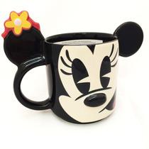 Caneca Porcelana Minnie Com Orelhas Disney Store Original