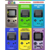 N O V O !! Game Boy Color Gbc Original Nintendo Melhor Preço