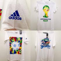Blusas Camisa Adidas Cbf Brasil Copa Original Importada