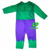 Disfraz Increible Hulk Con Capucha Avengers Vengadores