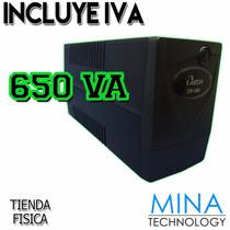 Ups Omega Line Interactive De 650 Va 6 Tomas - 110v/650va V