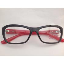 Armação Para Óculos Coca Cola Feminina Cc2 3777