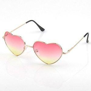 bc476abc16c94 Óculos De Sol Infantil Juvenil Menina Coração Proteção Uv - R  29,89 em  Mercado Livre