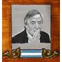 Cuadro Pintado Al Òleo De Nèstor Kirchner