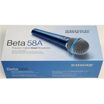 Micrófono Shure Beta 58-a Alambrico Profesional D-carlo