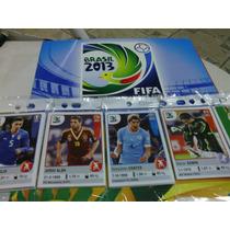 Albúm ++ 50 Figurinhas Novas Das Copa Das Confederações