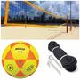Kit Rede Futevolei Profissional 4 Lonas + Bola + Marcação