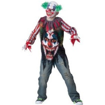 Tamaño Disfraces Incharacter Big Top Terror Vestuario 12 / X