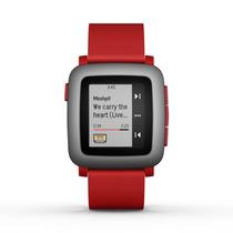 Reloj Inteligente Pebble Time Smartwatch - Rojo