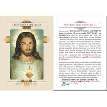 Conversa Com Jesus (1000 Santinhos De Oração)