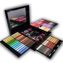 Maleta Estojo Maquiagem Kit Completo Com 89 Itens Luisance
