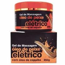Gel Massageador Óleo De Peixe Elétrico 16 Unidades.