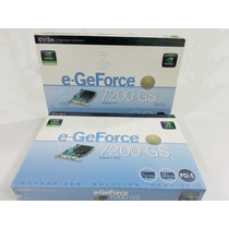 Placa De Video Pci Express - Geforce 7200gs - 256mb
