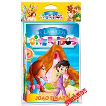 Coleção 8 Livros Clássicos Divertidos Tarzan Bambi João Mari