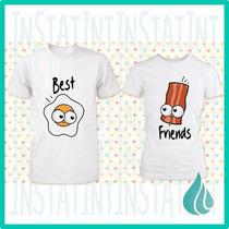 Camisas Amor Y Amistad Personalizadas Parejas San Valentin