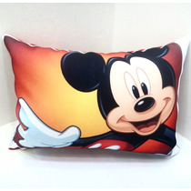 Bella Almohada Mickey Minnie Mouse 20x27cm Disney Regalo