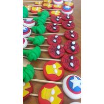 Superheroes,pinchos Para Gomitas,pinchos
