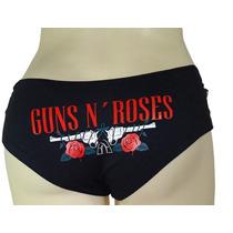 Calcinha Banda Guns N Roses Tamanho Pequeno Personalizada