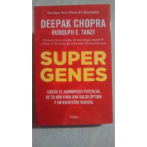 Libro Super Genes / Deepak Chopra