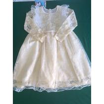 Vestido Criança Luxo Renda Festa Casamento