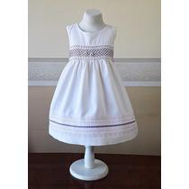 Vestido Importado Nena Bautismo, Casamiento, Fiesta 24 Meses