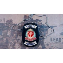 Distintivo De Peito Agente Escolta Armada