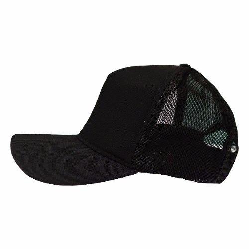 937b5d47cd Kit 4 Bonés Justin Bieber Trucker Preto Tela Liso Aba Curva - R$ 79,90 em  Mercado Livre