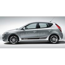 Adesivo I30 Hyundai Sport Faixa Lateral Acessórios Peças La