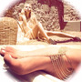 Tobillera Fashion Body Chain Ear Cuff Playa Sol Mujer Moda