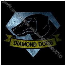 Playera Metal Gear The Phantom Pain Diamond Dogs Negra Kvyn