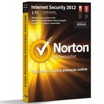 Licença Norton Internet Security 2012 1 Usuário - Symantec