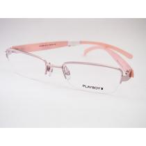 Armação Para Óculos Playboy Rosa Feminina