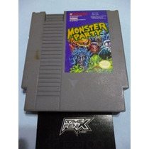 Monster Party Para Nintendo Nes. By Bandai. Game Fenix.