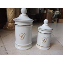Par De Botamenes Fabricados En Ceramica